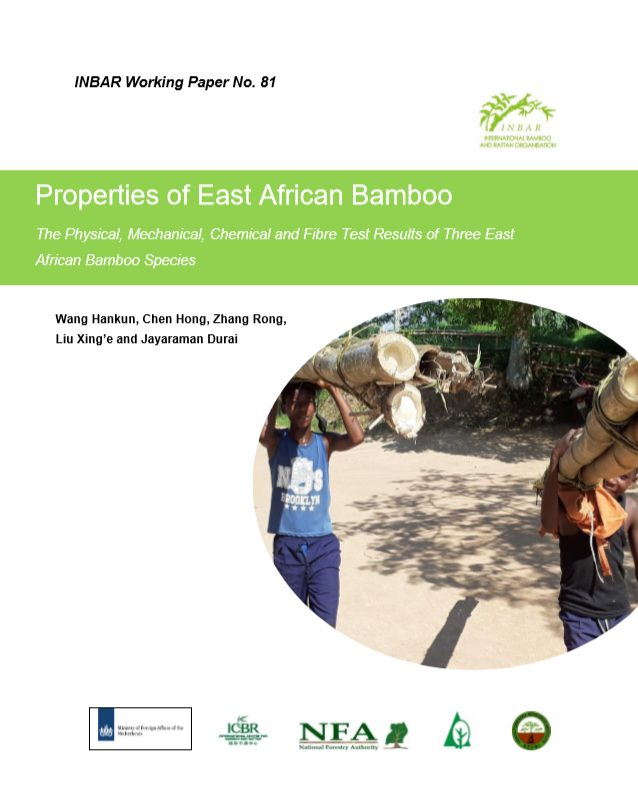 Properties of East African Bamboo
