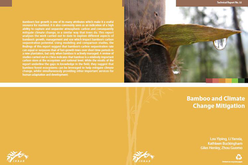 Bamboo and Climate Change Mitigation