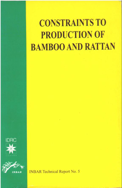 Constraints to Production of Bamboo and Rattan