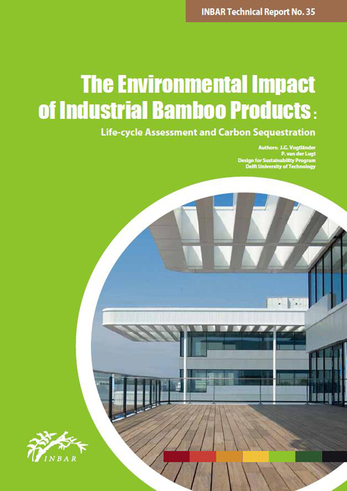 The Environmental Impact of Industrial Bamboo Products: Life-cycle Assessment and Carbon Sequestration