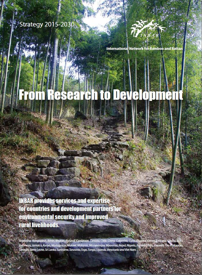 INBAR Strategy 2015-2030: From Research to Development