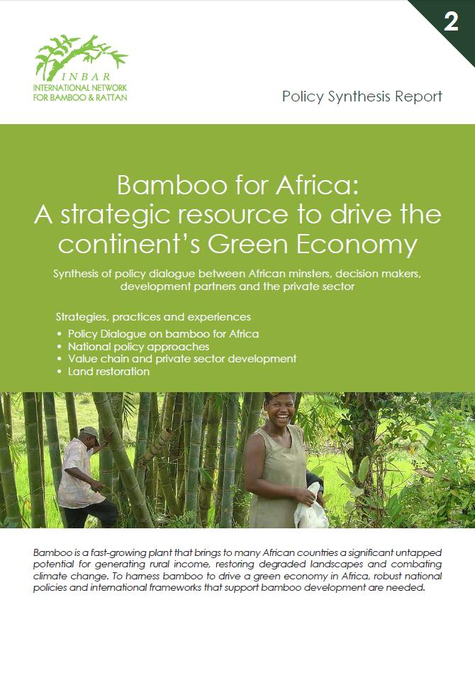 Policy Synthesis Report 2. Bamboo for Africa: A Strategic Resource to Drive the Continent's Green Economy