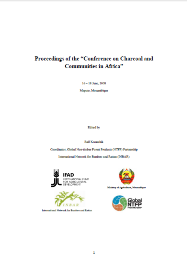 Charcoal and Communities in Africa