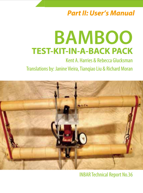 Bamboo Test-Kit-In-A-Back Pack (Part II)