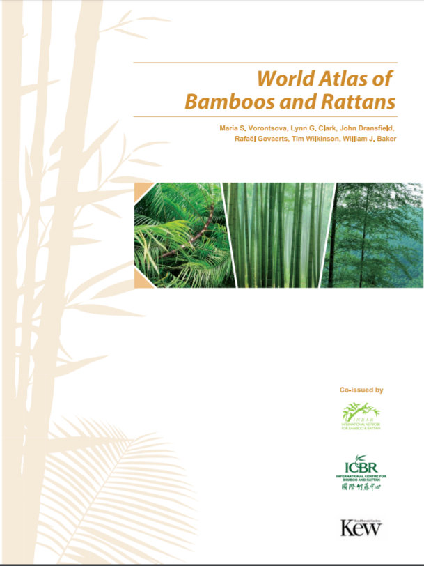 World Atlas of Bamboos and Rattans