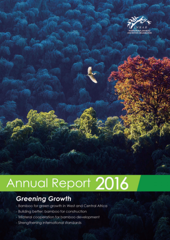 INBAR Annual Report 2016