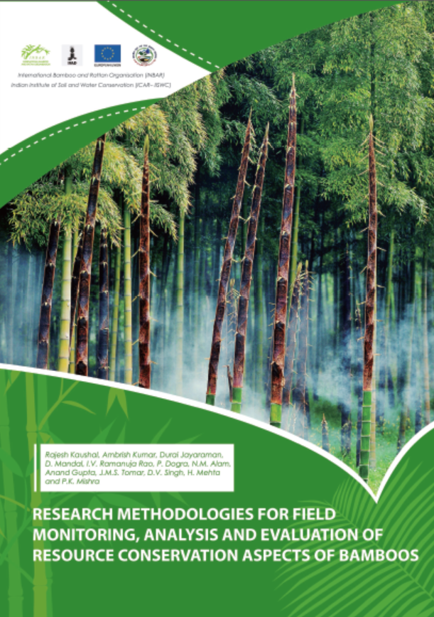 Research Methodologies for Field Monitoring, Analysis and Evaluation of Resource Conservation Aspects of Bamboo