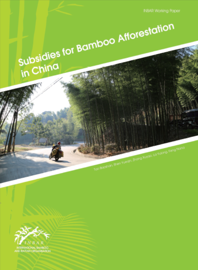 Subsidies for Bamboo Afforestation in China