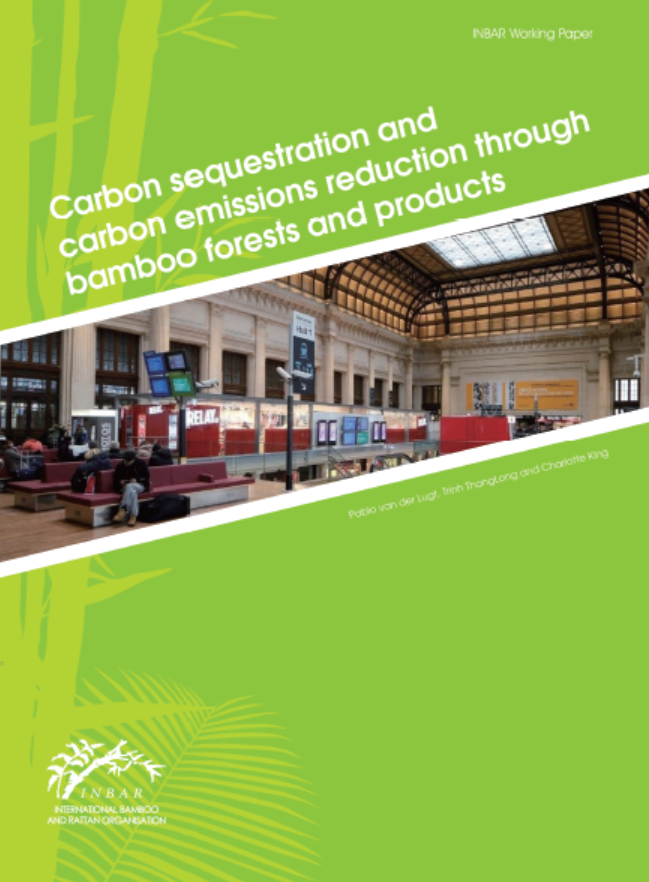 Carbon Sequestration and Carbon Emissions Reduction Through Bamboo Forests and Products