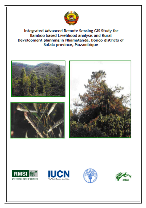 Integrated Advanced Remote Sensing GIS Study for Bamboo-based Livelihood Analysis and Rural Development Planning in Nhamatanda, Dondo districts of Sofala province, Mozambique