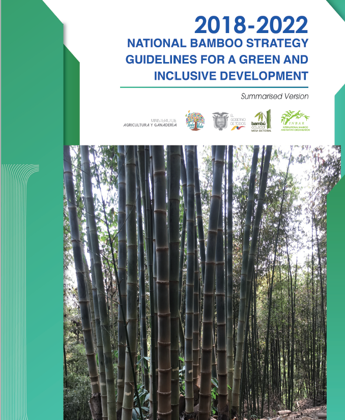 2018-2022 Ecuador National Bamboo Strategy Guidelines for Inclusive and Green Development