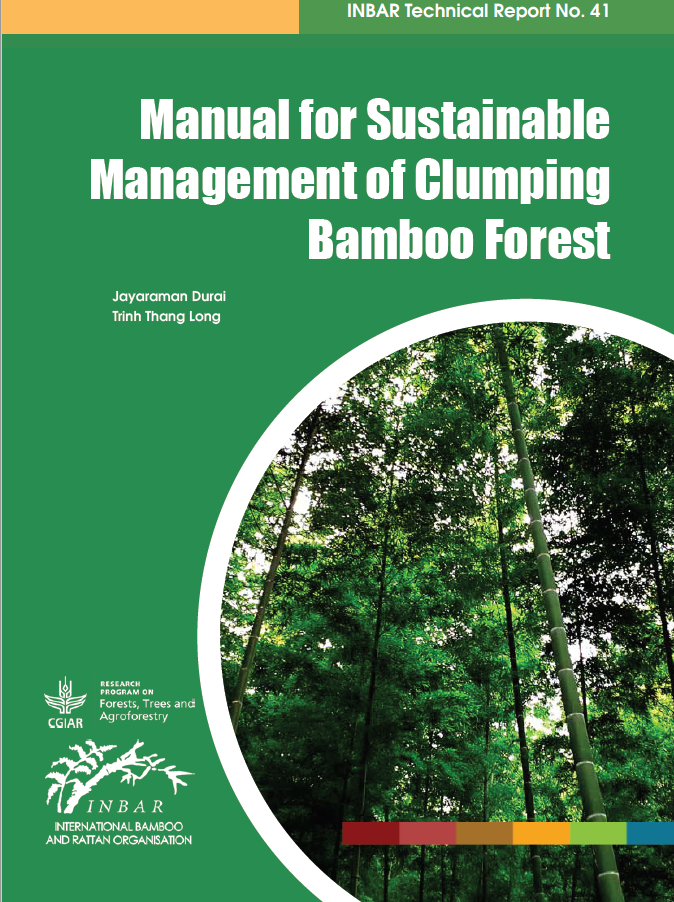Manual for Sustainable Management of Clumping Bamboo Forest