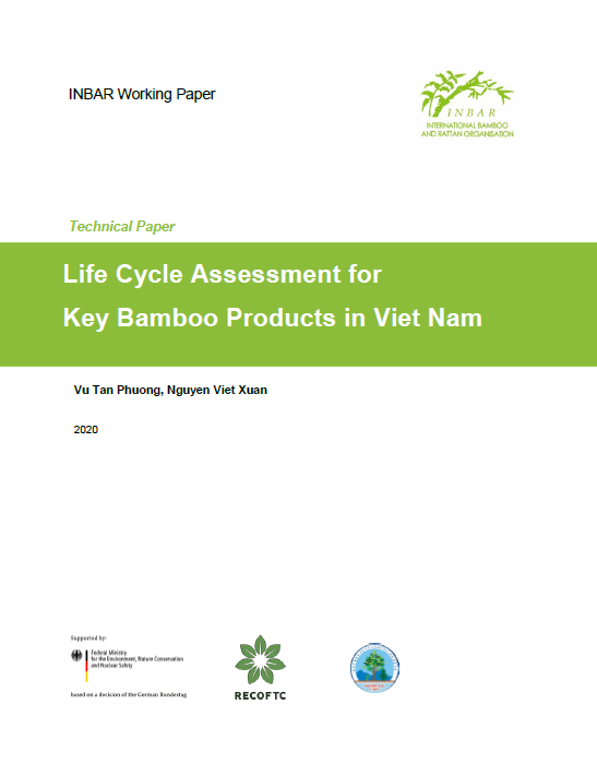 Life Cycle Assessment for Key Bamboo Products in Viet Nam