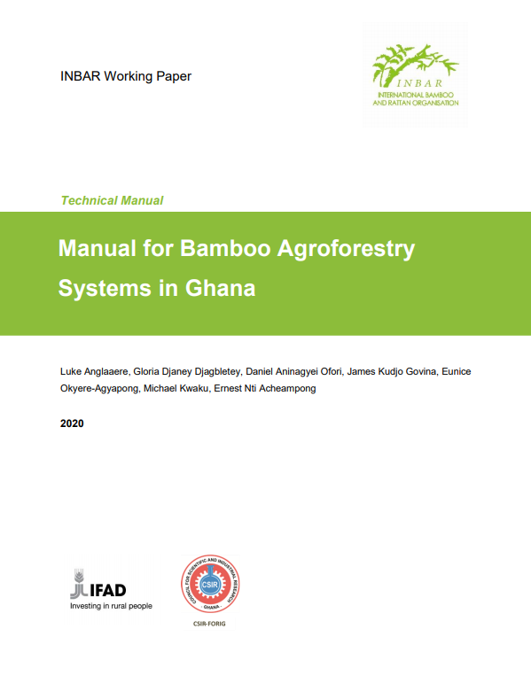 Manual for Bamboo Agroforestry Systems in Ghana
