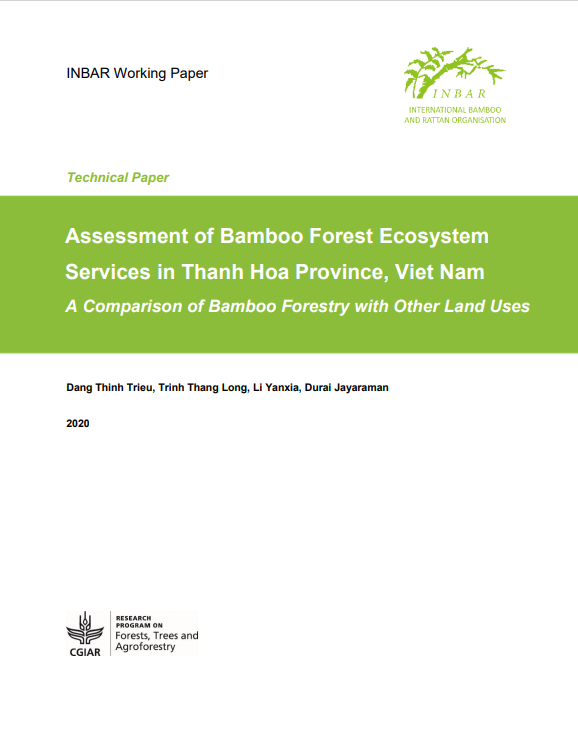 Assessment of Bamboo Forest Ecosystem Services in Thanh Hoa Province, Viet Nam