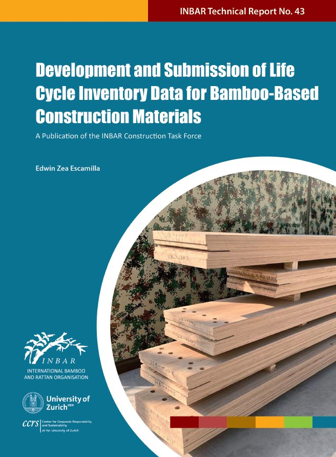 Development and Submission of Life Cycle Inventory Data for Bamboo-Based Construction Materials