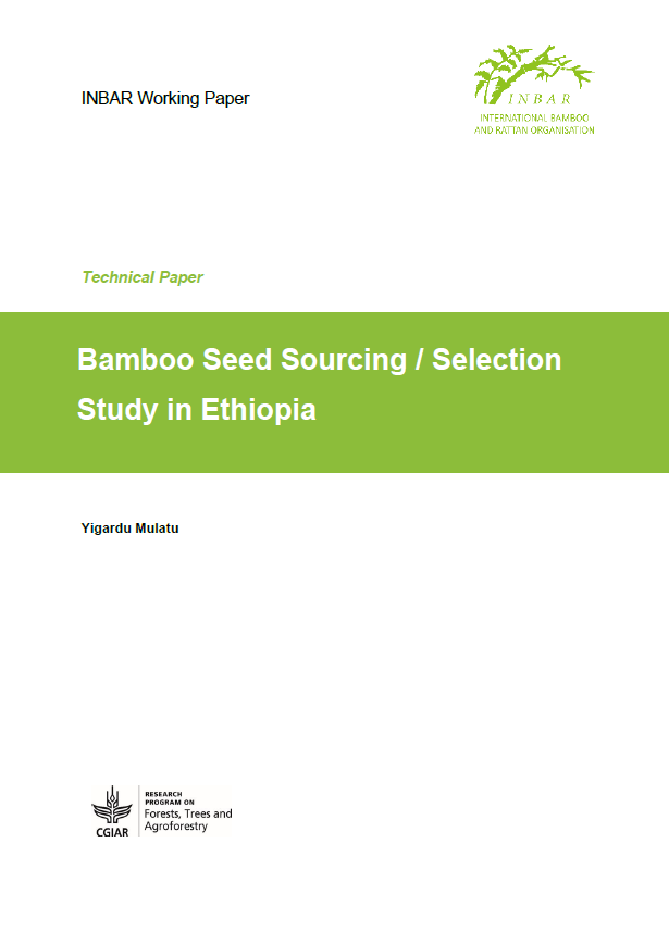 Bamboo Seed Sourcing / Selection Study in Ethiopia
