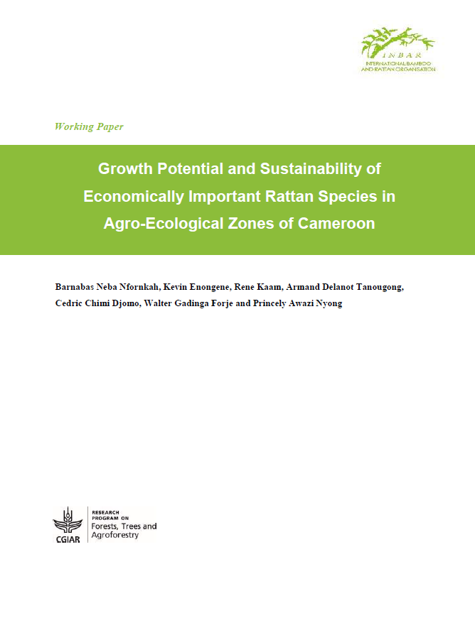 Growth Potential and Sustainability of Economically Important Rattan Species in Agro-Ecological Zones of Cameroon