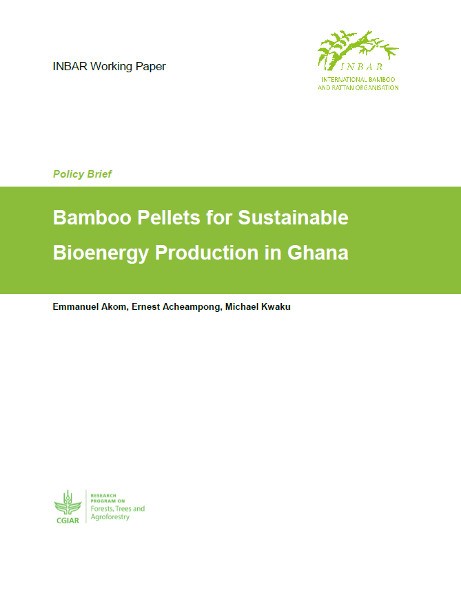 Bamboo Pellets for Sustainable Bioenergy Production in Ghana