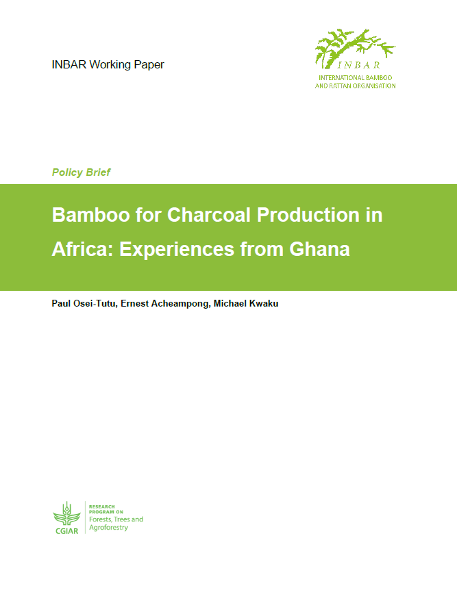 Bamboo for Charcoal Production in Africa: Experiences from Ghana